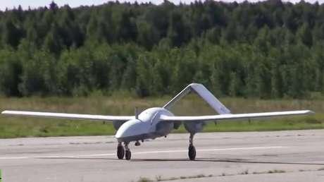 El vehículo aéreo no tripulado Korsar.