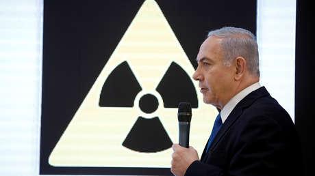 El primer ministro de Israel, Benjamín Netanyahu, en Tel Aviv, el 30 de abril de 2018.
