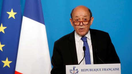 El ministro de Asuntos Exteriores francés, Jean-Yves Le Drian/ Imagen Ilustrativa