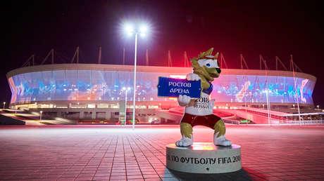 El estadio Rostov Arena.