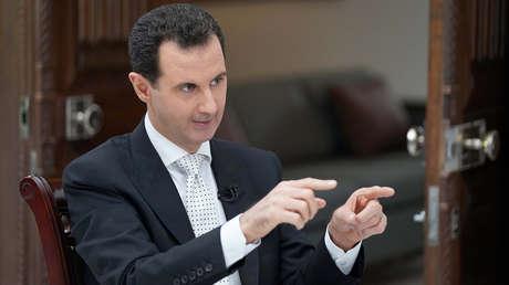 El presidente de Siria, Bashar al Assad.