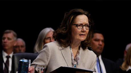 La aspirante a dirigir la CIA, Gina Haspel, testifica ante el Comité de Inteligencia del Senado en Washington, 9 de mayo de 2018.