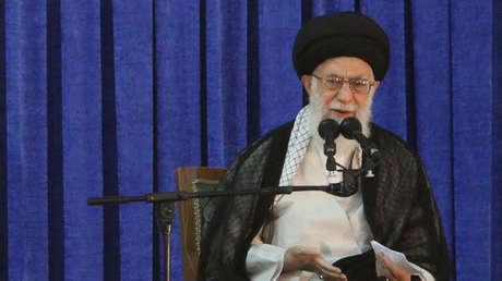 El líder supremo de Irán, ayatolá Alí Hoseiní Jameneí.