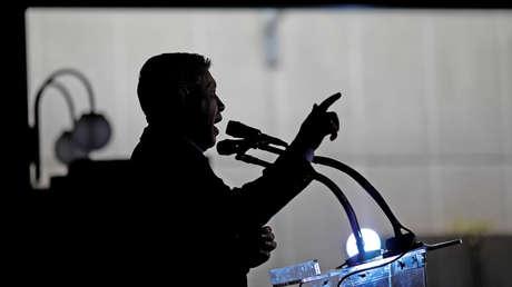 El candidato presidencial venezolano Henri Falcón en rueda de prensa. Caracas, 8 de mayo de 2018.