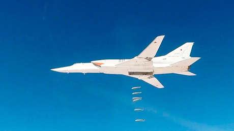 Un bombardero estratégico Tu-22M3, el 26 de noviembre de 2017.