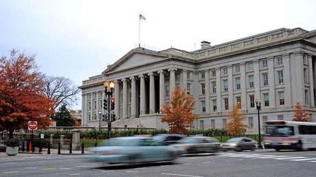 Edificio del Tesoro de los EE. UU. en Washington, DC.