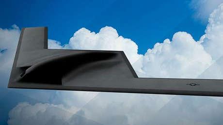 Bombardero estadounidense Northrop Grumman B-21 Raider.