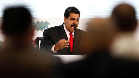 El presidente reelecto de Venezuela, Nicolás Maduro.