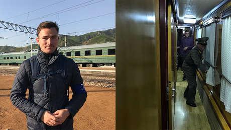 El corresponsal de RT, Semión Sénderov, rumbo al desmantelamiento del polígono nuclear norcoreano Punggye-ri.