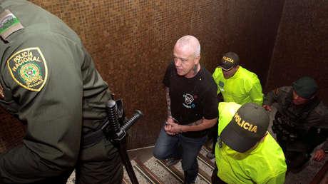 Jhon Jairo Velásquez, alias 'Popeye', es detenido por la Policía colombiana. Medellín 25 de mayo de 2018.