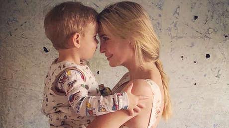 Ivanka Trump con su hijo Teodor.
