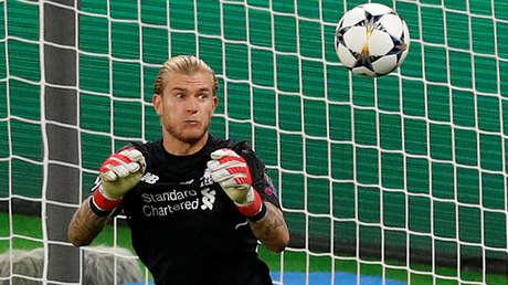 Loris Karius, portero alemán del Liverpool F.C.