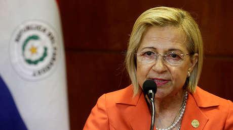 Alicia Pucheta en Asunción, Paraguay, el 30 de abril de 2018.