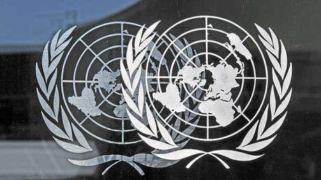 Logotipo de la Organización de las Naciones Unidas.