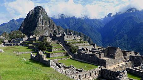 Restos de la ciudadela inca de Machu Picchu (Perú).