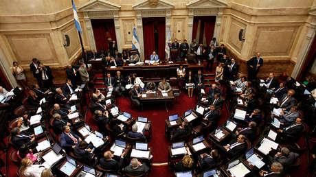 Senadores debaten reforma impositiva. Buenos Aires, 27 de diciembre de 2017.