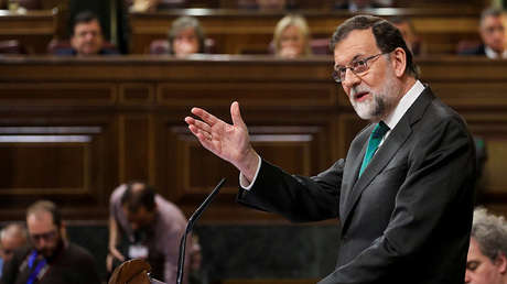 El presidente del Gobierno de España, Mariano Rajoy