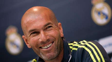 El exentrenador del Real Madrid Zinedine Zidane.