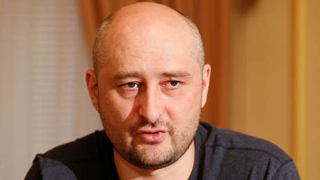 El periodista Arkadi Bábchenko