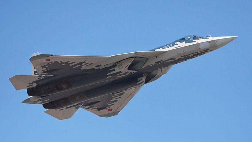 Revelan características únicas del caza furtivo ruso Su-57