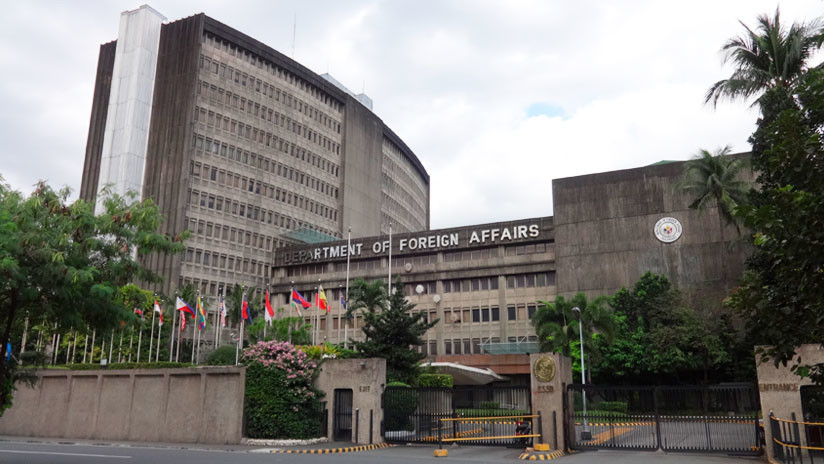 Senadores de Filipinas firman una resolución para condenar a China