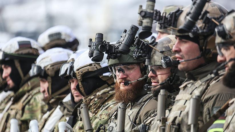 Las Fuerzas Armadas de Rusia ensayan nuevas tácticas de combate en 200 campos de entrenamiento