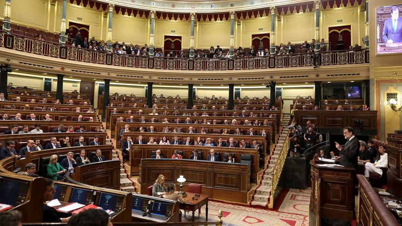 La moción de censura contra el presidente Rajoy