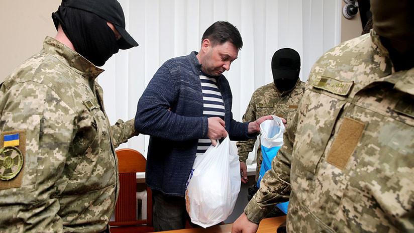Periodista de RIA Novosti detenido en Kiev renuncia a su nacionalidad ucraniana y pide ayuda a Putin
