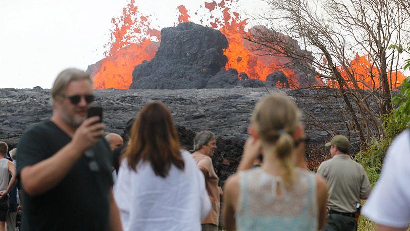 Erupción del volcán Kilauea: Autoridades de Hawái exigen a residentes evacuarse o serán arrestados