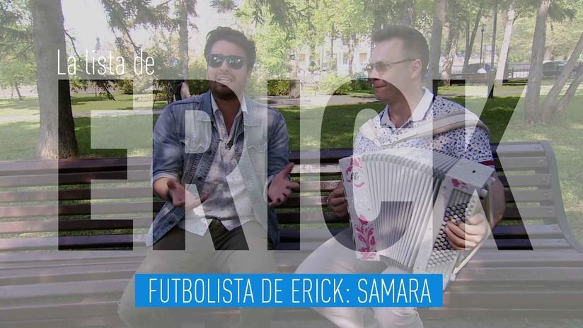 Futbolista de Erick: Samara
