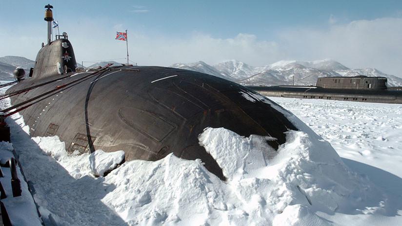 """Armada rusa: """"Nuestros submarinos están bajo los hielos de Ártico de forma permanente"""""""