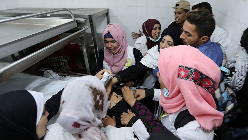 Israel lleva a cabo ataques aéreos contra blancos palestinos en Gaza