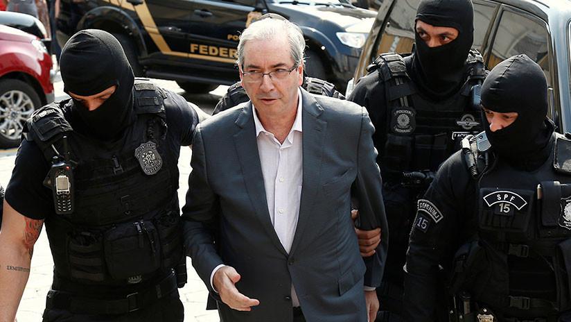 Brasil: Condenan a 24 años de cárcel por corrupción al impulsor del 'impeachment' contra Rouseff