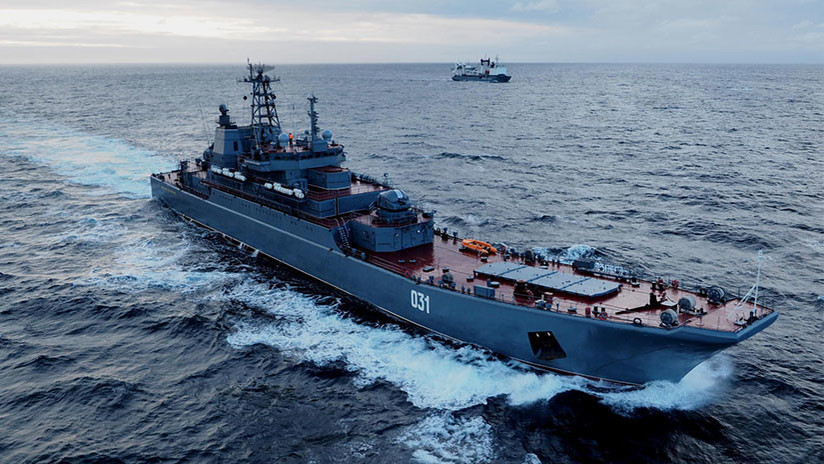 El poderío naval 'que surgió del frío': Video homenaje a la Flota rusa del Norte por sus 285 años
