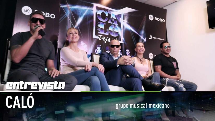 """El grupo mexicano Caló: """"Lo importante es que la canción nos guste a nosotros"""""""