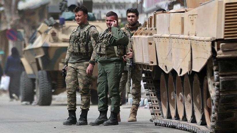 Turquía anuncia que sus fuerzas entran en territorio de Irak