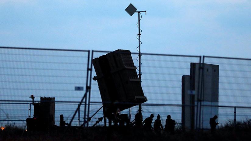 Israel intercepta uno de los dos misiles lanzados desde Gaza contra el sur del país