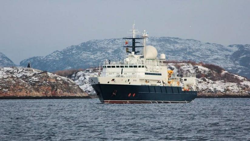 El Reino Unido despliega un destructor y un helicóptero para seguir a un buque de investigación ruso
