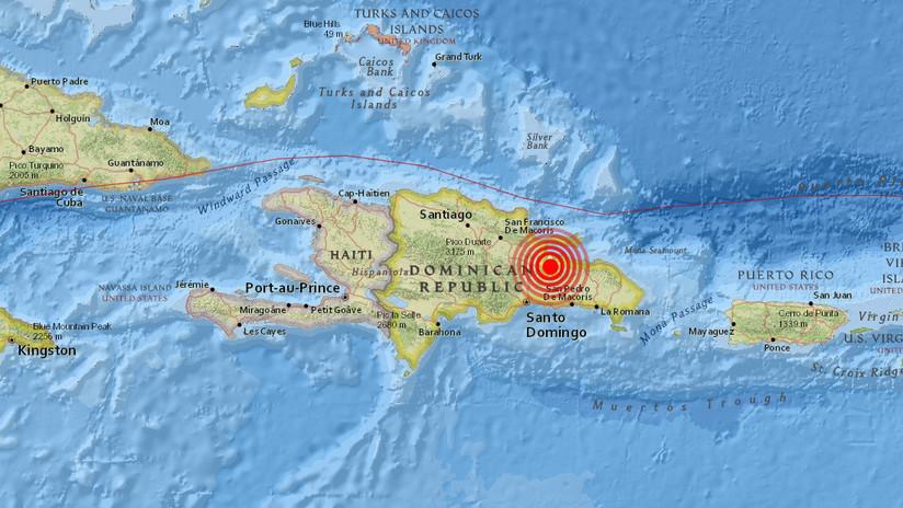 Un sismo de magnitud 4,7 sacude República Dominicana
