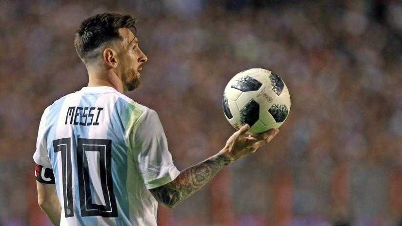 Dirigente del fútbol palestino insta a quemar camisetas de Messi si juega en Jerusalén