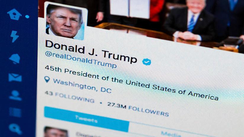 EE.UU. apelará la decisión judicial que prohibió a Trump bloquear usuarios en Twitter