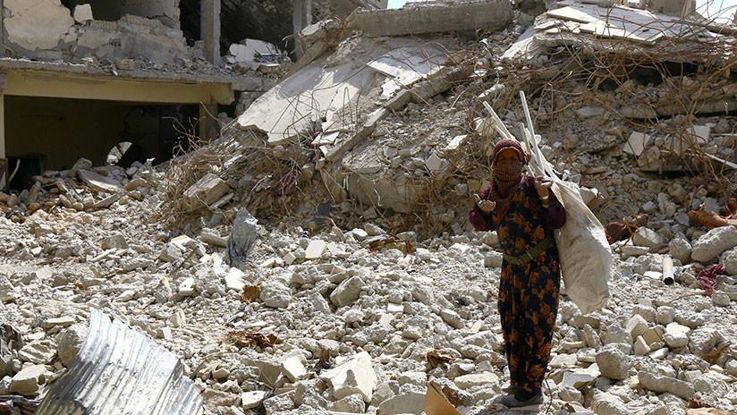 """EE.UU., Francia y Reino Unido bombardearon zonas de Raqa """"sabiendo que tenían civiles atrapados"""""""