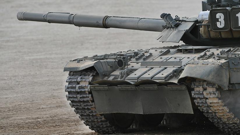 Las tropas árticas rusas reciben los tanques T-80BVM, diseñados para funcionar bajo fríos extremos