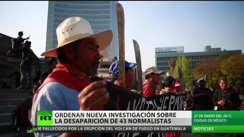 México: Ordenan nueva investigación sobre la desaparición de 43 normalistas