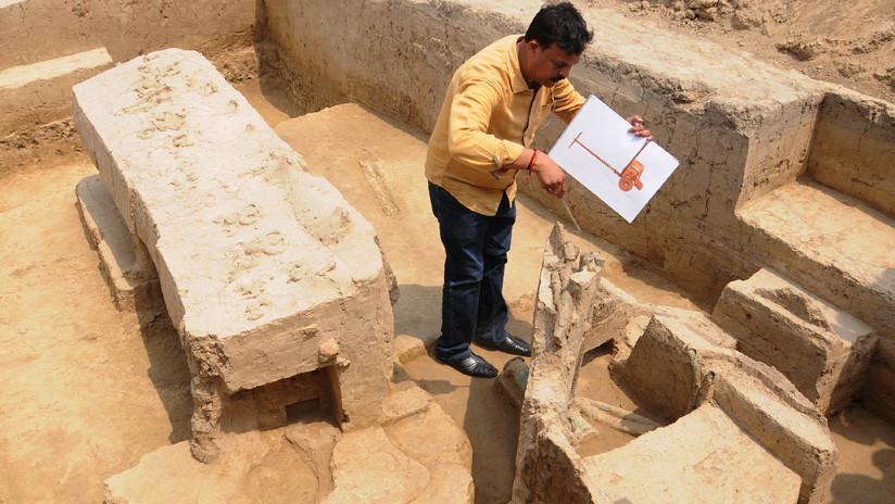 Hallan por primera vez en la India un carro datado en la Edad de Bronce