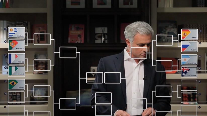 Mourinho no ve a Perú clasificado a octavos del Mundial Rusia 2018