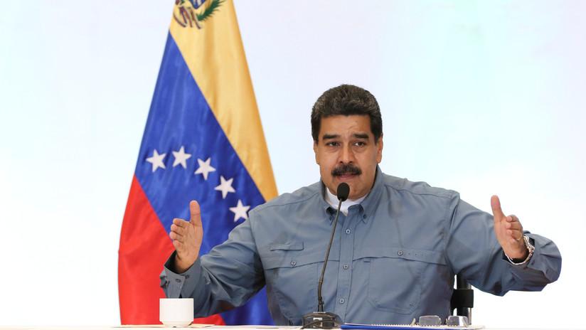 """Maduro: """"Tengo pruebas de la infiltración de EE.UU. en puestos clave de Pdvsa"""""""