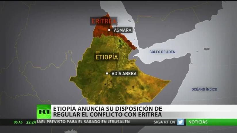Etiopía propone paz a Eritrea y archiva la disputa fronteriza