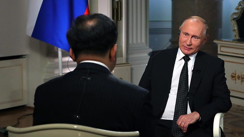 VIDEO: Putin desvela por qué bebió vodka con Xi Jinping