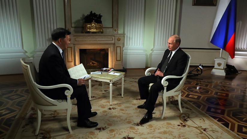 VIDEO: Putin revela sus favoritos a ganar el Mundial de Rusia 2018